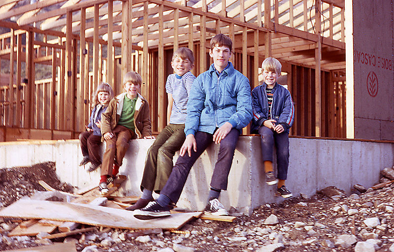 1971- Holly, Dana, Russ, Bruce & Doug